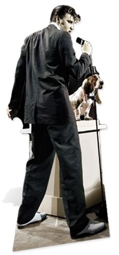 Elvis Hound Dog - Cardboard Cutout