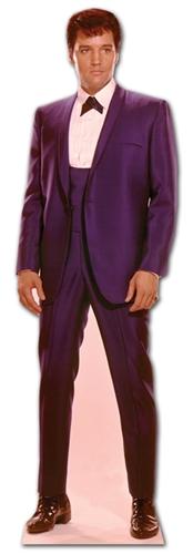 Elvis 1960's Blue Suit - Cardboard Cutout