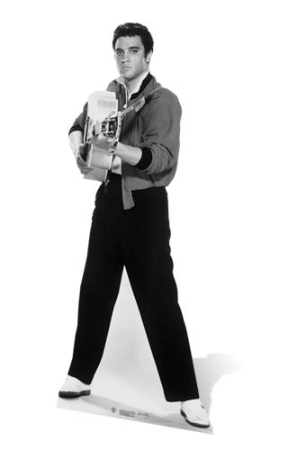 Elvis Shooting with Guitar - Cardboard Cutout