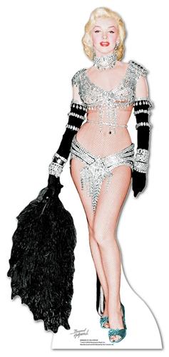 Marilyn Monroe 'Showgirl' - Cardboard Cutout