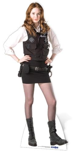 Amy Pond (Policewoman Uniform) - Cardboard Cutout