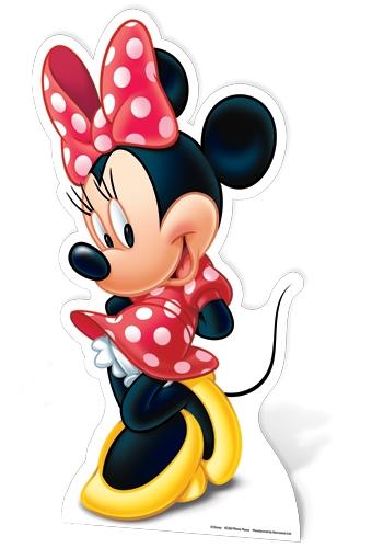 Minnie Mouse Star Mini Cardboard Cutout Novelties Parties Direct Ltd