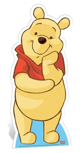 Winnie the Pooh Star-Mini Cardboard Cutout
