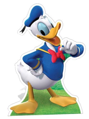 Donald Duck Disney Star Mini Cutout