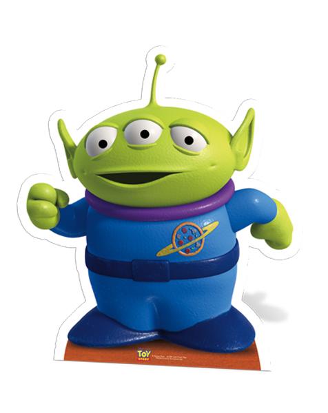 Little Green Man Star-Mini Toy Story Cutout