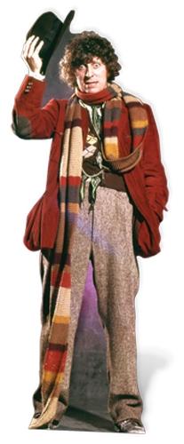 Tom Baker - 4th Doctor - Cardboard Cutout
