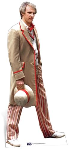 Peter Davison - 5th Doctor (Cardboard Cutout)