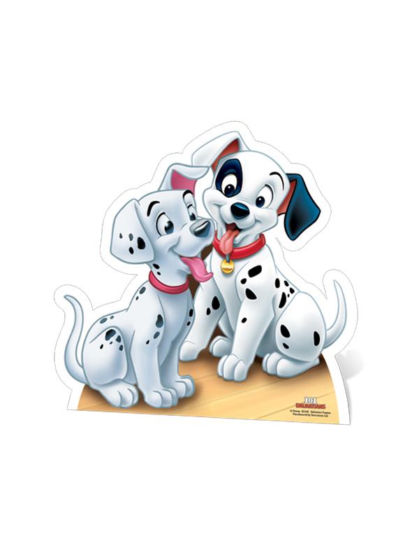 Dalmatians- Puppies Star-Mini Cardboard Cutout