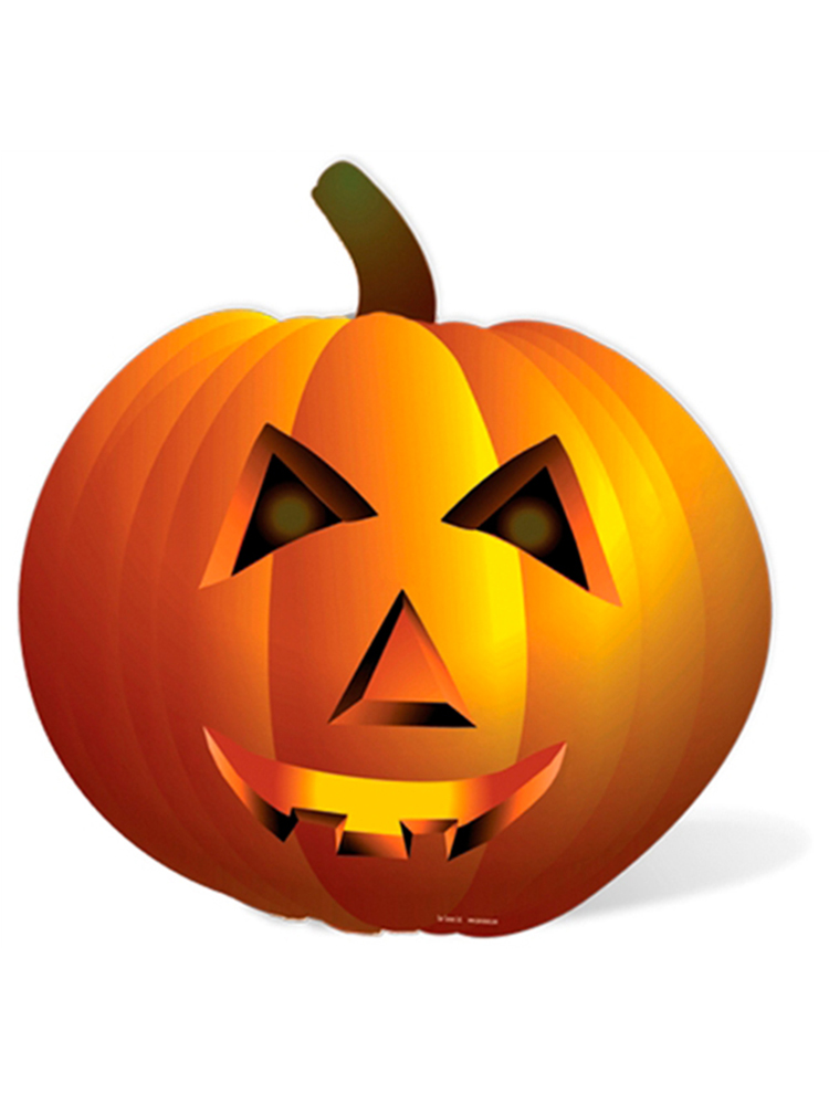 Pumpkin Lifesize cutout
