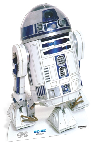 R2-D2 Star-Mini Star Wars - Cardboard Cutout