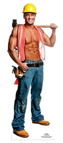Billy (Construction Worker) - Cardboard Cutout