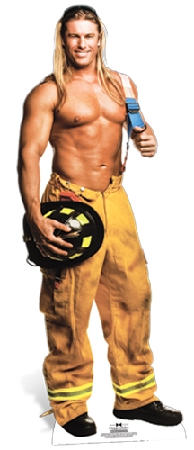 Kevin (Fireman) Chippendales - Cardboard Cutout