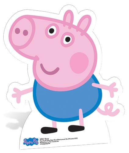 George Pig Star-Mini - Cardboard Cutout