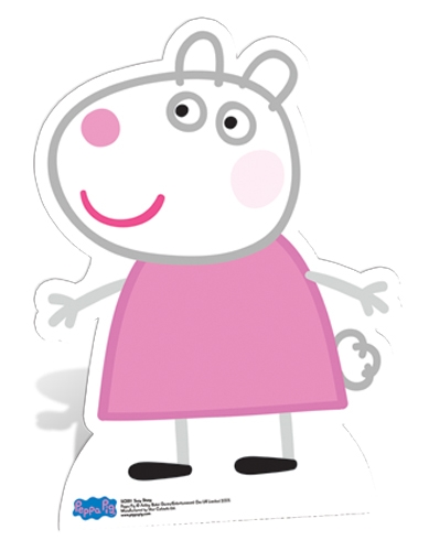Suzy Sheep Star-Mini - Cardboard Cutout