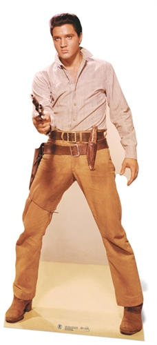 Elvis Presley Gunfighter - Cardboard Cutout