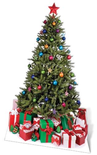 Small Christmas Tree - Cardboard Cutout
