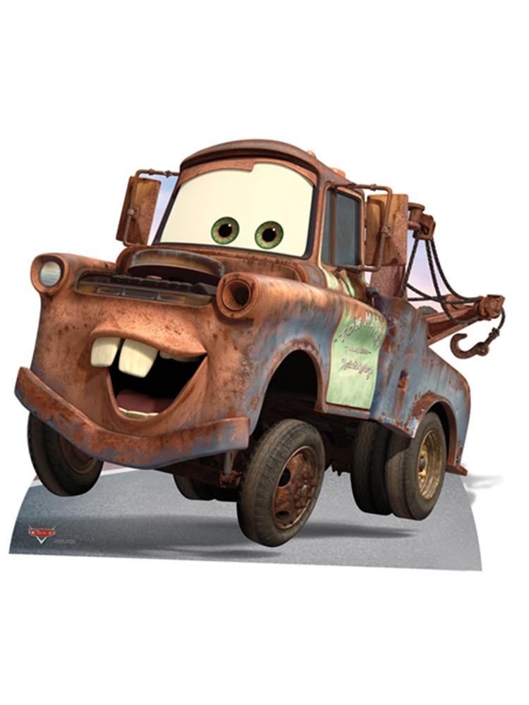 Mater Cardboard Cutout