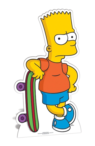 Bart Simpson - Cardboard Cutout