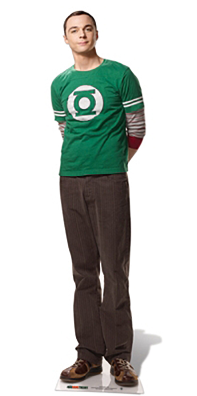 Dr Sheldon Cooper The Big Bang Theory - Cardboard Cutout