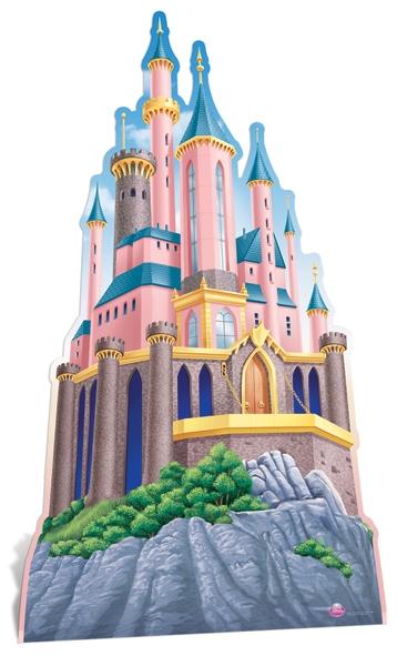 Disney Princesses' Castle - Cardboard Cutout