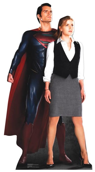 Superman & Lois - Cardboard Cutout