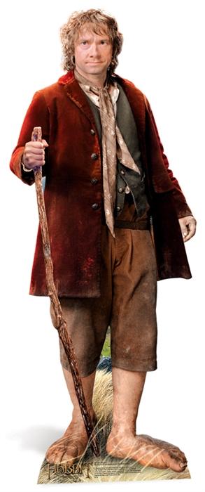 Bilbo Baggins (The Hobbit)- Cardboard Cutout