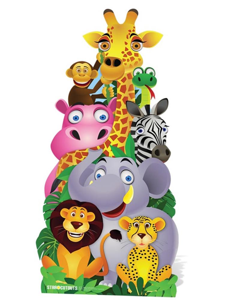 Jungle Friends Cut-out - Cardboard Cutout