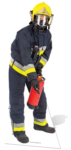 Fireman - Cardboard Cutout