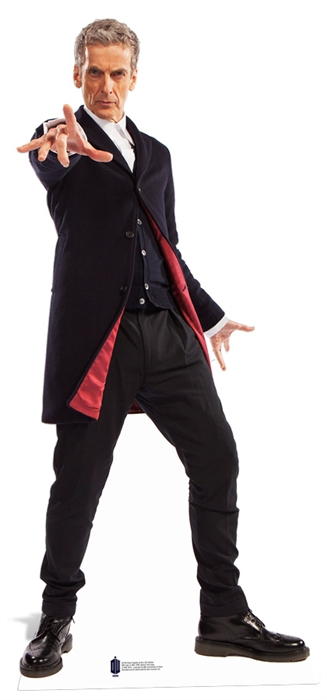 The 12th Doctor (Peter Capaldi) - Cardboard Cutout