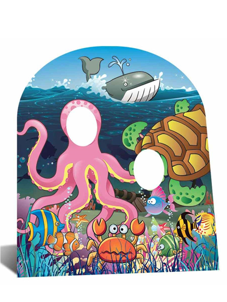 Under the sea Stand-In - Cardboard Cutout