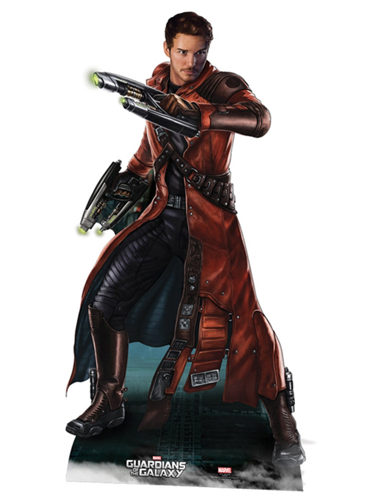 Peter Quill Guardians of the Galaxy - Cardboard Cutout