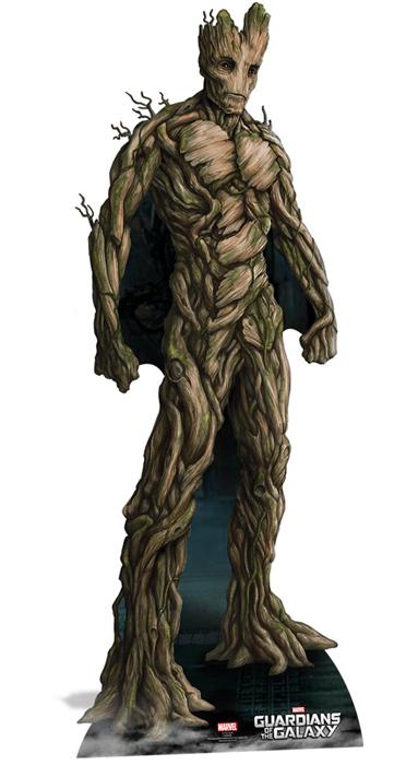 Groot Guardians of the Galaxy - Cardboard Cutout