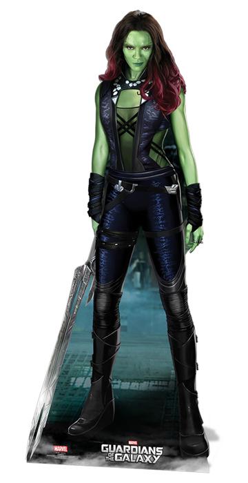 Gamora (Guardians Of The Galaxy) - Cardboard Cutout