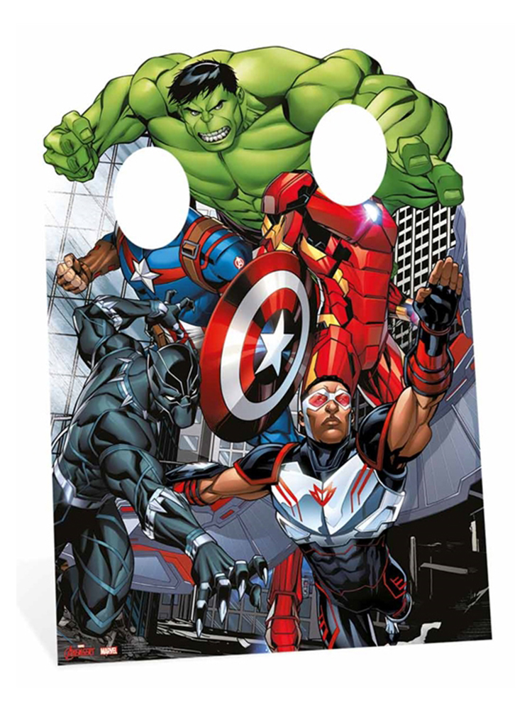 Marvel Avengers Assemble Child Stand In - Cardboard Cutout