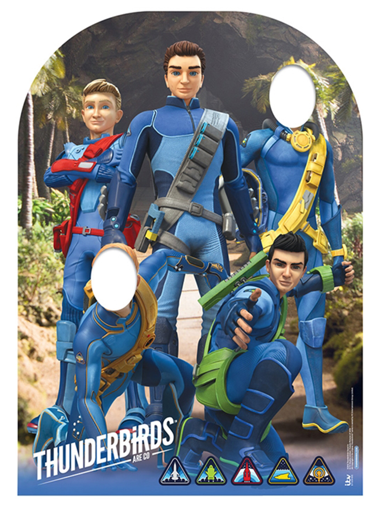 Thunderbirds Child Stand In - Cardboard Cutout