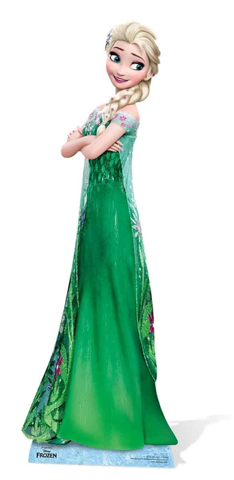 Elsa New (Frozen Fever) Cardboard cutout