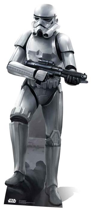 Stormtrooper (Battle Pose) - Cardboard Cutout