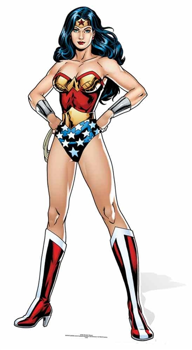 Wonder woman (DC-Comics) Cutout