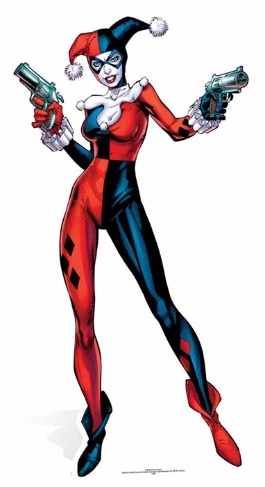 Harley Quinn (DC-Comics) Cutout