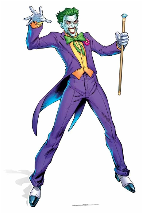 The Joker (DC-Comics) - Cutout