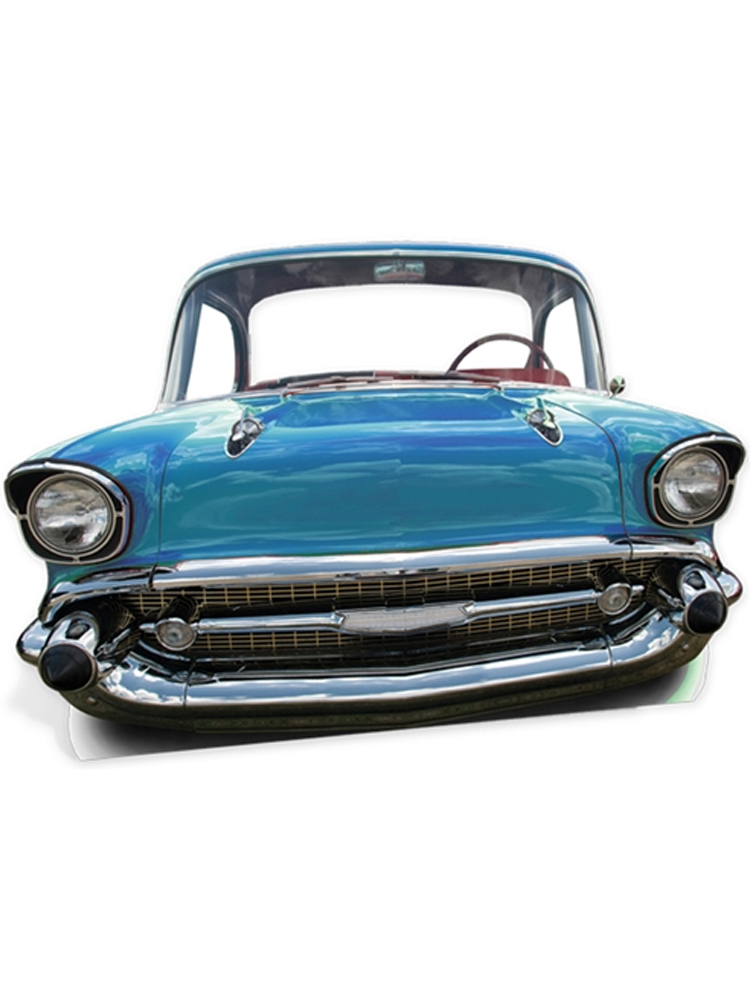Blue Car (Life Sized) 'Stand-In'