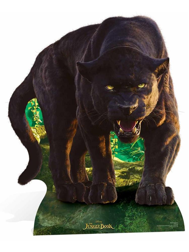 Bagheera (Black Panther) Live Action Jungle Book Cutout