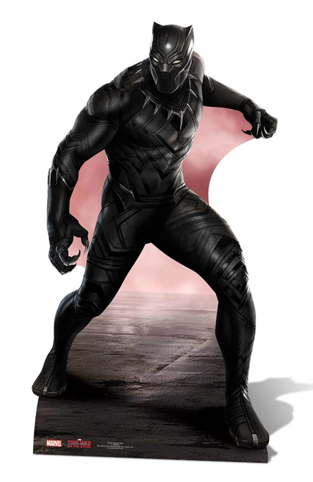 Black Panther (Movie) Wakanda Leader - Cardboard Cutout