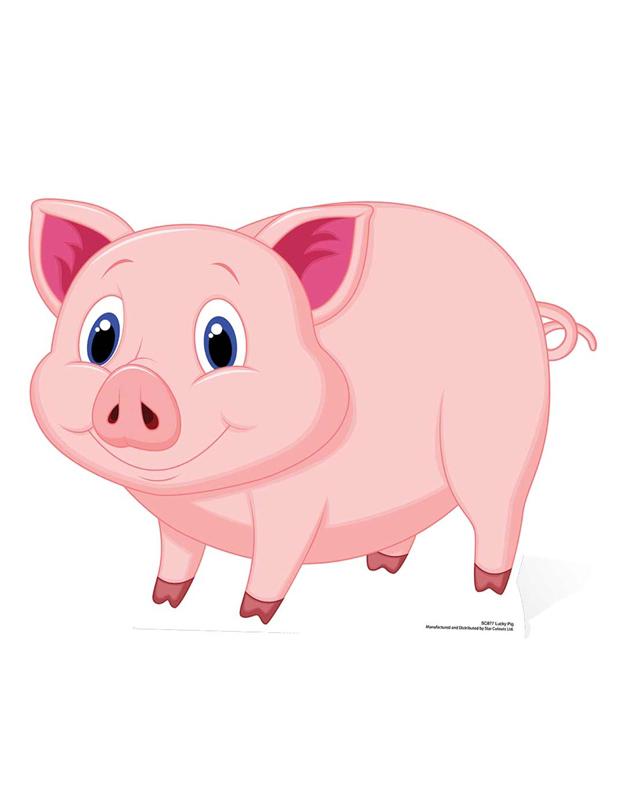 Lucky Pig a.k.a Glucksschwein- Cardboard Cutout