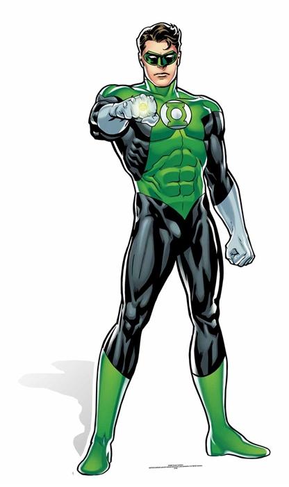 Green Lantern (DC Comics) Cutout
