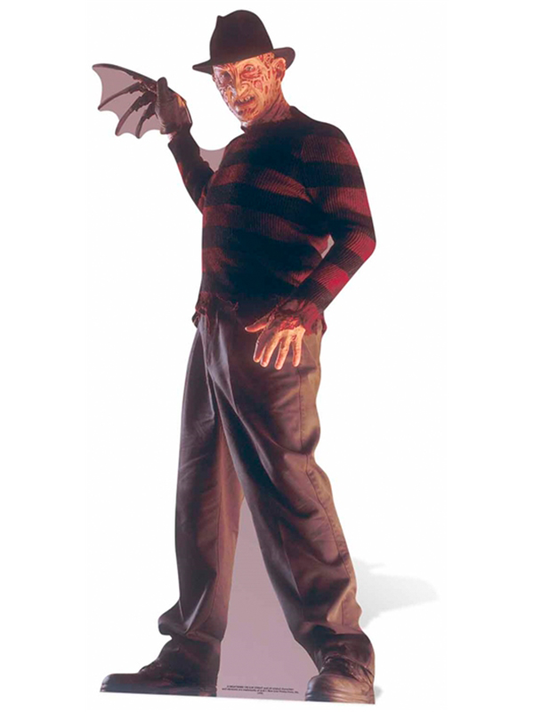 Freddy Krueger Nightmare on Elm Street Lifesize Cutout