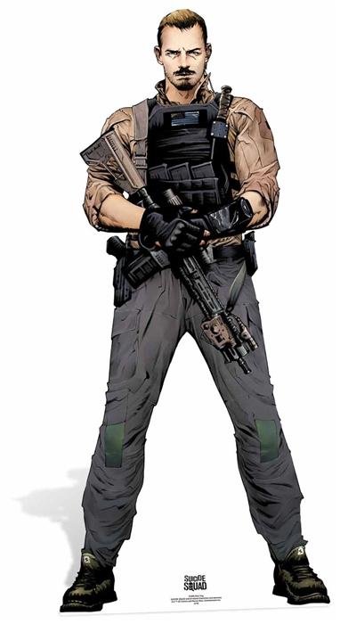 Rick Flag (Suicide Squad Comic Artwork) Cutout