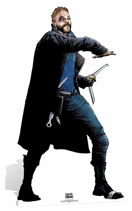 Captain Boomerang (Suicide Squad Comic Artwork) Cutout