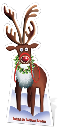 Rudolph the Red Nosed Reindeer - Cardboard Cutout