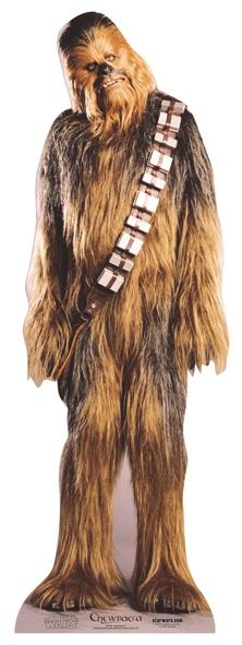 Chewbacca (Mini) Cardboard Cutout